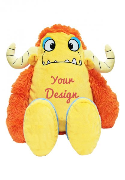 ORANGE-MONSTER - Ein personalisierter Teddybär