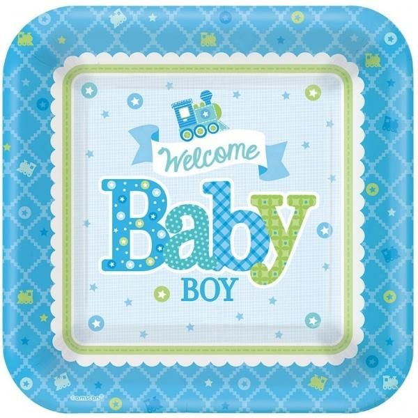 Boy - 8 Teller Welcome Little One